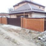 Монтаж откатных ворот в Астрахани для частного дома