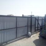Монтаж откатных ворот в Астрахани