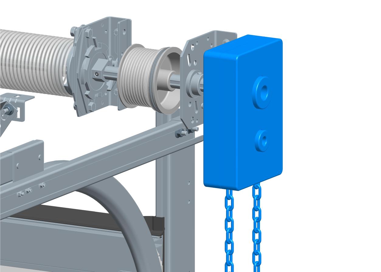 Ручной привод для секционных ворот